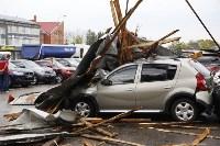 В Туле сорвало крышу делового центра, Фото: 3