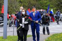 Тульские байкеры почтили память героев в Ясной Поляне, Фото: 23