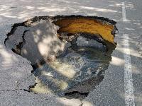 Провал на ул. Революции в Туле, Фото: 1