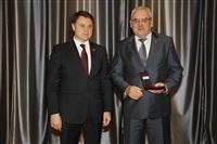Награждение медалью медалью «За выдающиеся достижения в создании оборонной техники» Евгения Дронова, Фото: 74