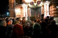 Пасхальное богослужение в Успенском соборе, Фото: 44