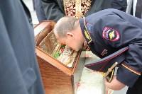Сотрудники ОМОН поклонились мощам святого великомученика Георгия Победоносца, Фото: 20