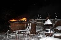 В пос. Менделеевский сгорел частный дом., Фото: 3