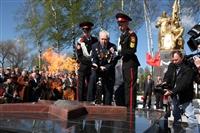 В поселке Первомайский зажгли Вечный огонь, Фото: 9