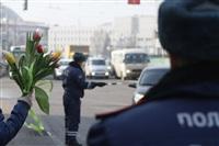 Полицейские поздравили автоледи с 8 Марта, Фото: 29