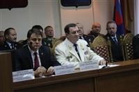 Торжественное собрание, посвященное предстоящему Дню работника прокуратуры. 10 января 2014, Фото: 2