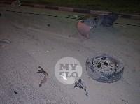 Крупное ДТП на ул. Металлургов в Туле: Nissan снес столб, пассажирку вышвырнуло из машины, Фото: 17