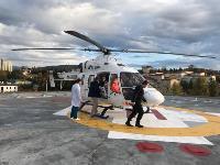 Жительницу Одоева доставили в Тулу из Сочи на вертолете санавиации, Фото: 4