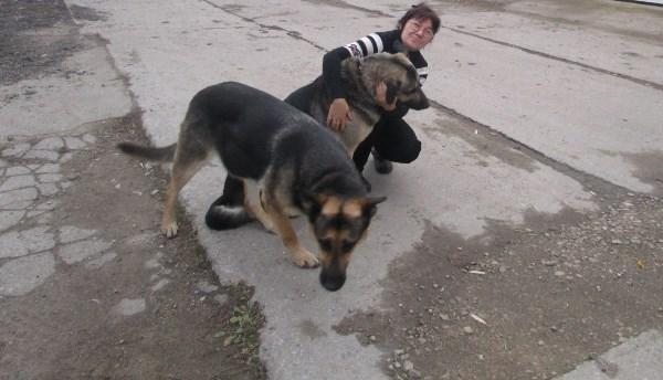 Так получилось,  что дали мне собачек родственники во временное пользование.  Во время прогулки с ними, меня сфотографировали. Только я в тот момент плохо держала равновесие, а Дикуся с Диночкой все таки  крупные собачки  для меня по комплекции. Гуляли мы в отведенном месте. Так что все хорошо и еще по улыбались