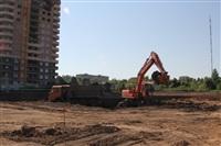 На Зеленстрое-2 начали строительство нового детского сада, Фото: 1