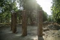 В Туле началось благоустройство скверов и дворов, Фото: 1