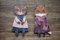 Тульская художница создает уникальные куклы из дерева, Фото: 14