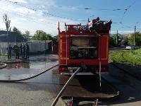 Пожар на ул. М. Горького в Туле, Фото: 2