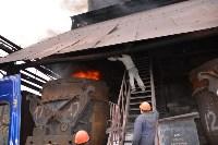 Сотрудники УФСБ сожгли в огромной печи 750 грамм наркотиков, Фото: 4