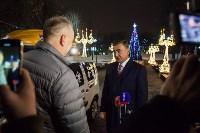 Дюмин осмотрел новогоднюю Тулу, Фото: 42