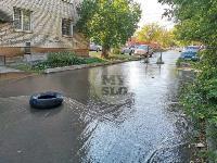 Прорыв водопровода , Фото: 10