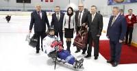 Председатель правительства Тульской области Юрий Андрианов вручил санки следж-хоккеистам региона, Фото: 11