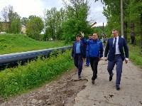 В Туле меняют аварийный участок трубы, из-за которого отключали воду в Пролетарском округе, Фото: 12
