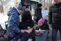 В Туле спасатели провели акцию «Дети без опасности», Фото: 1