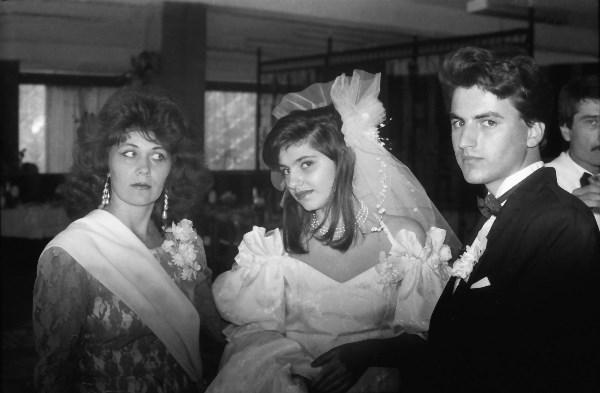 Ох, эти глазки (1993). Фото: Раду Кибзий. (Свадьба моего друга, по имени Марчел Комендант, г. Кишинёв).