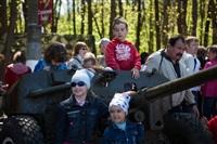 В Центральном парке воссоздали боевой подвиг советских солдат, Фото: 9