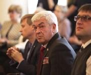 Встреча врио губернатора Тульской области Алексея Дюмина с общественностью. 23 марта 2016 года, Фото: 11
