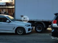 В Туле водитель BMW умер за рулем и устроил ДТП, Фото: 1