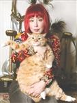 Картины с котом покорили Интернет Светлана Петрова с котом Заратустрой , Фото: 3