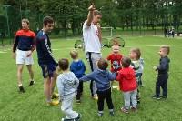 В тульских парках заработала летняя школа футбола для детей, Фото: 7