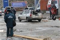 Взрыв баллона с газом на Алексинском шоссе. 26 декабря 2013, Фото: 12