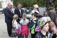 В Ясногорске Алексей Дюмин поручил привести в порядок городской парк, Фото: 27