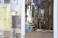 """На ул.9 Мая сгорел рынок """"Салют"""", Фото: 2"""