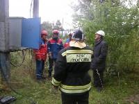 Сотрудники МЧС отработали действия при нарушении электроснабжения, Фото: 6