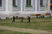 Установка шпиля на колокольню Тульского кремля, Фото: 5