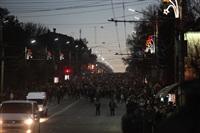 Третий этап эстафеты олимпийского огня: проспект Ленина, Фото: 67