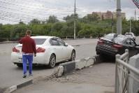 """""""Киа"""" врезалась в столб на Пролетарском мосту, Фото: 4"""