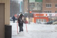 Последствия снежного циклона в Туле, Фото: 1