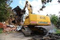 В Плеханово продолжается снос незаконных цыганских построек, Фото: 103