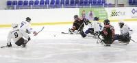 Председатель правительства Тульской области Юрий Андрианов вручил санки следж-хоккеистам региона, Фото: 15