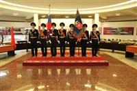 В Туле прошла церемония крепления к древку полотнища знамени регионального УМВД, Фото: 13