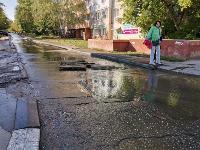 Прорыв водопровода , Фото: 9