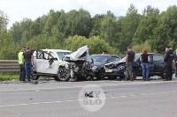 В ДТП под Тулой погибли три сотрудника УФСИН, Фото: 7