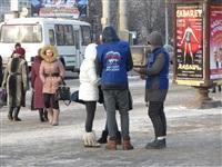 Пикет «Единой России» в поддержку увеличения соцнормы на электроэнергию, Фото: 2