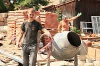 Владимир Груздев проинспектировал ремонт бассейна на улице Гоголевской. 8 июля 2015, Фото: 15