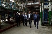 Алексей Дюмин посетил Ефремовский завод синтетического каучука, Фото: 6