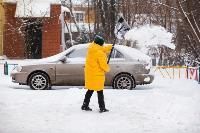 Последствия снежного циклона в Туле, Фото: 43