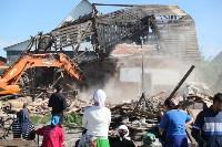 Демонтаж незаконных цыганских домов в Плеханово и Хрущево, Фото: 43