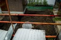В Туле может провалиться под землю частным домом: обрушился шурф шахты, Фото: 11