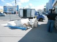 Снос двух торговых павильонов на Фрунзе, Фото: 6