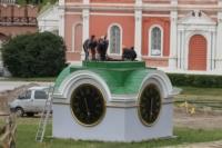 Установка шпиля на колокольню Тульского кремля, Фото: 6
